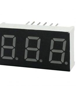 სამმაგი 7 სეგმენტიანი LED ეკრანი (573)