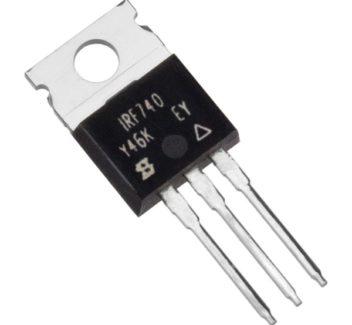 ველის ტრანზისტორი MOS N-FET IRF740 (4577)