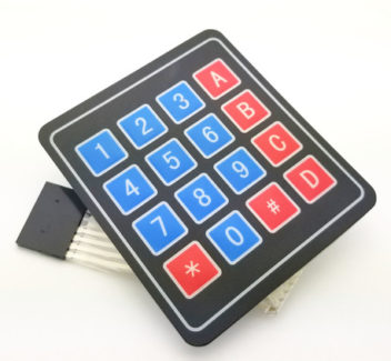 Matrix Membrane Keypad 4×4 (4320)