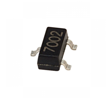 ველის ტრანზისტორი MOS N-FET 2N7002 (4930)
