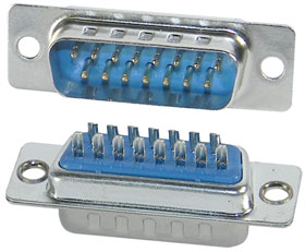 D-Sub Connector MALE 15 pin (5089)