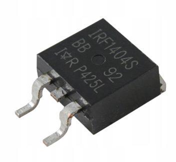 ველის ტრანზისტორი MOS N-FET IRF1404 S (4904)