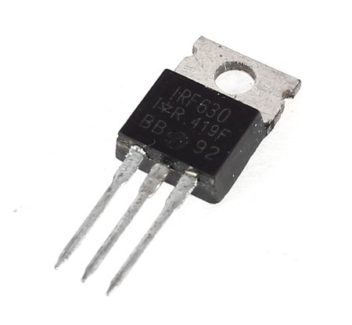 ველის ტრანზისტორი MOS N-FET IRF630 N (4586)