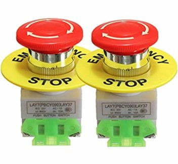 EMERGENCY STOP SWITCH lAY7 660V 10A (6289)