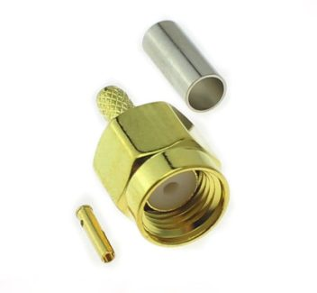 SMA male internal screw inner hole RP-SMA-J-1.5 reverse pole 50-1.5 router extension cable connector